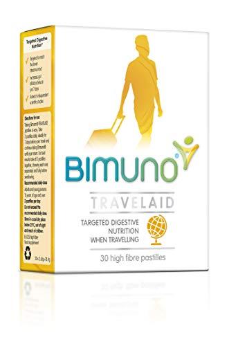 BIMUNO Travelaid 30 Pastilles by Bimuno, 100 g