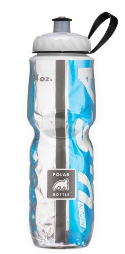 Polar Bottle Insulated Water Bottle (Chevron Pink) (24 oz) - 100% BPA-Free Water Bottle - Perfect Cycling or Sports Water Bottle - Dishwasher & Freezer Safe