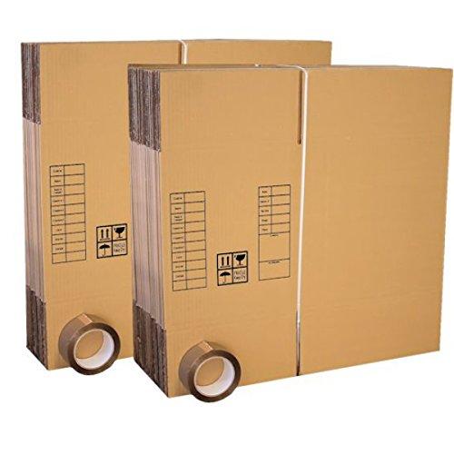 Lot 30 cartons déménagement livres poignées + 1 Adhésif OFFERT