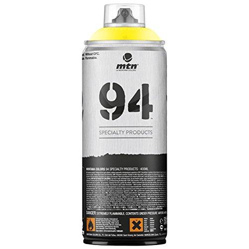 Pintura en spray MTN 94 Fluorescente Amarillo 400ml