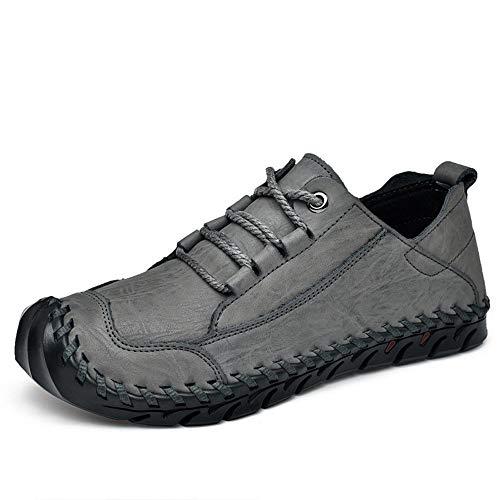 Yunjingchenman draag je immune, turnhoofd, vamp, genaaid leer, buitenschoenen, wandelen, gecomprimeerde schoenen, Easy Rock, mannen top, eenvoudige en stijlvolle vrijetijdsschoenen mannen schoenen