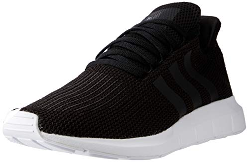 adidas Swift Run, Scarpe da Ginnastica Basse Uomo, Nero (Black B37726), 43 1/3 EU
