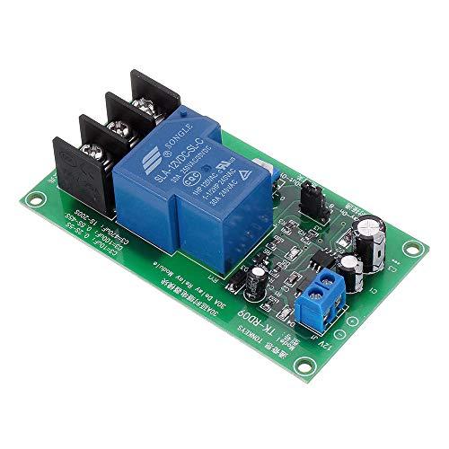 MING-MCZ Duradero TK-RD09-200S 12V DC 0-200S Ajustable Tiempo 30A Módulo de relé de retardo de Alta precisión monoestables 10pcs Fácil de Montar