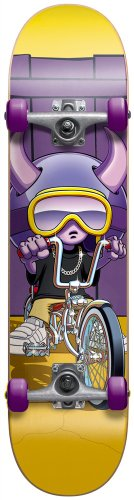 Speed Demon Komplett Skateboard Lowrider Gold/Puple, Multi Color, 11614106