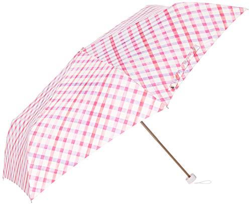 ムーンバット ミニ傘UV 水彩チェック 3123010073-2-31-55