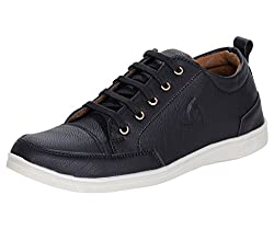 Kraasa Mens Faux Leather Sneaker