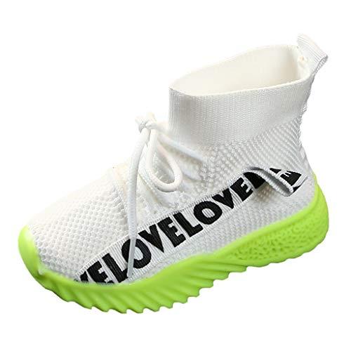 ELECTRI❤️ Chaussure de Course pour Enfant Chaussure de Sports Basket Garçon Fille Respirante Compétition Entraînement Chaussure à la Mode