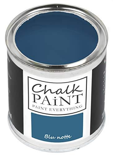 Everything CHALK PAINT Blu Notte 250 ml - SENZA CARTEGGIARE Colora Facilmente Tutti i Materiali…