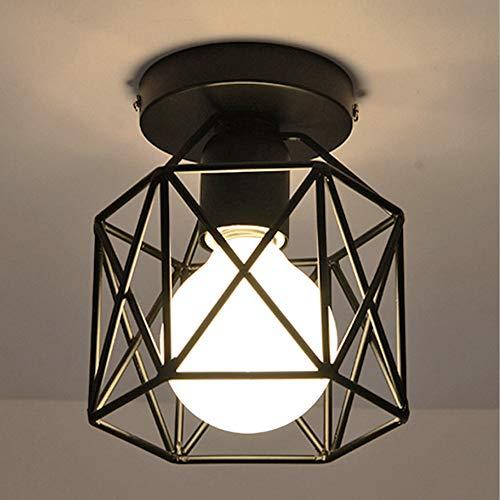 Viitech Pantalla de lámpara de jaula vintage, luz de jaula de pájaro,Lámpara...