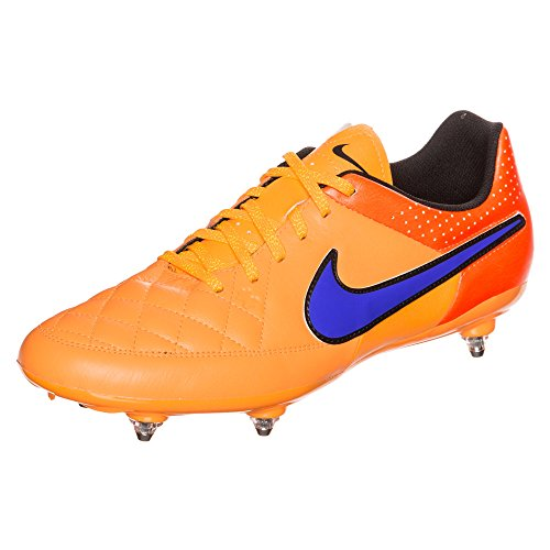 Nike Performance Tiempo Genio Leather SG, 631616, voetbalschoen, oranje