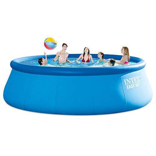 Intex Easy Set Pool Set with Filter Pump, Ladder, Ground Cloth & Pool Cover - 15 ft. x 48 in.