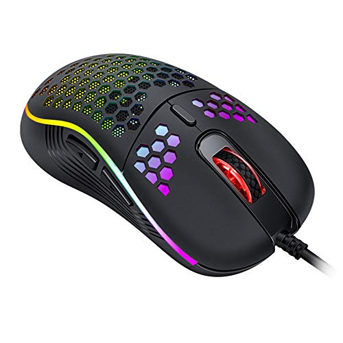 Lightweight Gaming Mouse 26 Kinds RGB Mice 7200 DPI - axGear