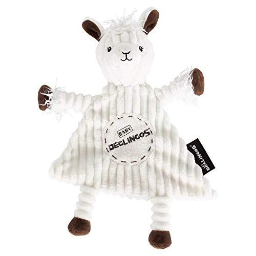 Les Déglingos - Muchachos le Lama - Doudou pour bebe et enfant  - Tissu Doux - Peluche - Ludique - Jouet éducatif - Convient dès la naissance