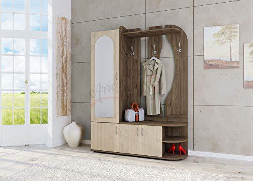 Arredodacasa.com Mobile per Ingresso con Specchio Design Moderno Modello II4052