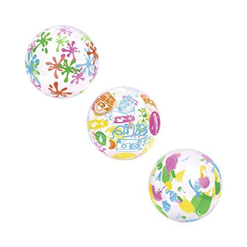 Bestway Designer Beach Ball 41 cm, Wasserball, sortiert