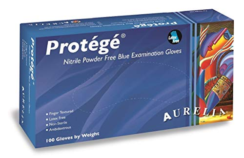 iDentalUSA Amazing Comfort - Protégé Nitrile PF Exam Gloves Large (L) Size Box of 100 Gloves