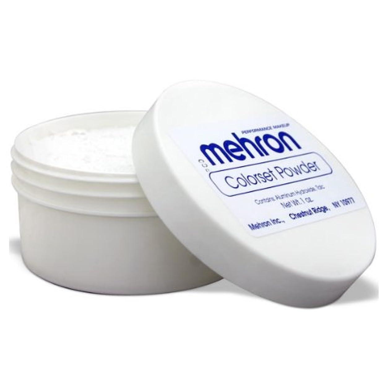 法廷オプション商標(3 Pack) mehron Colorset Powder - Translucent (並行輸入品)