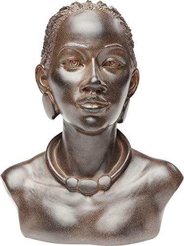 Kare Design Deko Objekt African Lady Necklace (H/B/T) 24,8 20,2 15