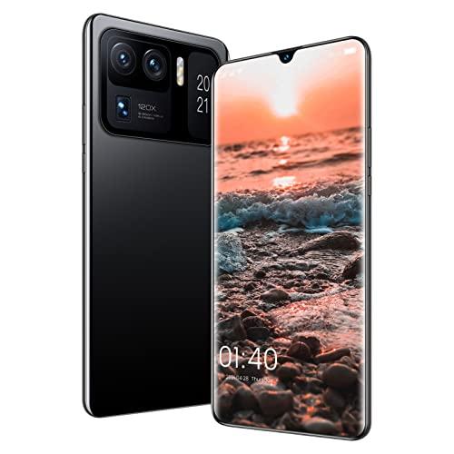 ZRN Smartphone Sbloccato, Telefono Cellulare Android, Fotocamera multiobiettivo, Batteria a Lunga Durata, 8 GB di RAM + 256 GB di Rom