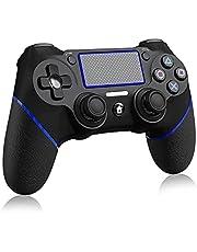 TRAOO PS4 コントローラー [NEWモデル] プレステ4 コントローラー 最新バージョン対応 リンク遅延なし Bluetooth接続 二重振動 ジャイロセンサー ヘッドフォンジャック 高耐久ボタン スイッチ コントローラー PS3/PC対応 日本語取扱説明書