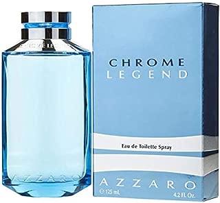Azzārŏ Chrŏmė Legėnd Cologne for Men 4.2 fl. Oz / 125 ml Eau De Toilette Spray