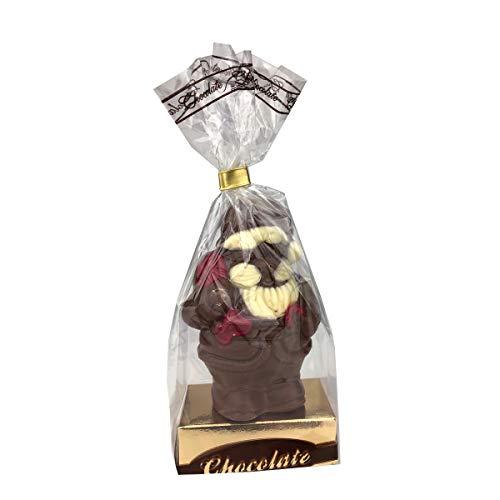 Weihnachtsmann/Nikolaus/Schneemann/Schokolade/Weihnachts-Schokolade/verschiedene Figuren zur Auswahl/Weihnachten, Anzahl:1er Einzel, Auswahl:Weihnachtsmann klein Sack