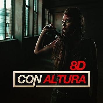Con Altura - Sky Rojo (8D)
