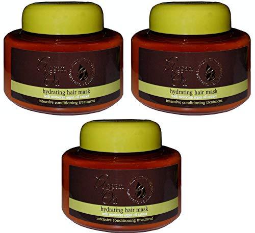 argan oil Hydrating Hair Mask 220ml x 3