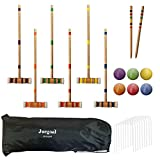 Best Croquet Sets - Juegoal Six Player Croquet Set with Drawstring Bag Review