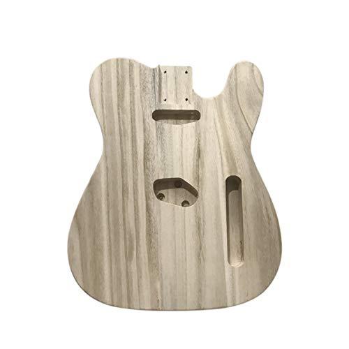DIY Componentes guitarra Cuerpo Guitarra eléctrica de cuerpo pulido de tipo tubo...