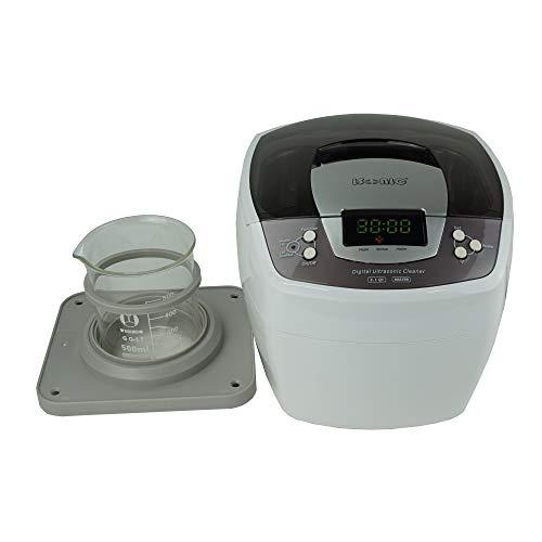 iSonic P4810+BHK01B Commercial Ultrasonic Cleaner w/ 500 ml Beaker Holder Set for DIY Liposomal Vitamin C