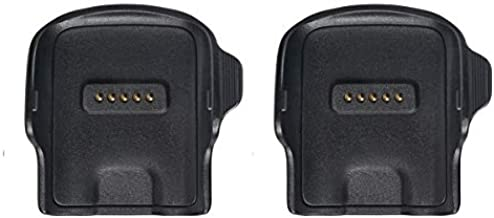 Emilydeals Compatible with Gear Fit Charger, Replacement Charger Dock Cradle for Samsung Gear Fit R350 Smart Watch (2 Pack)
