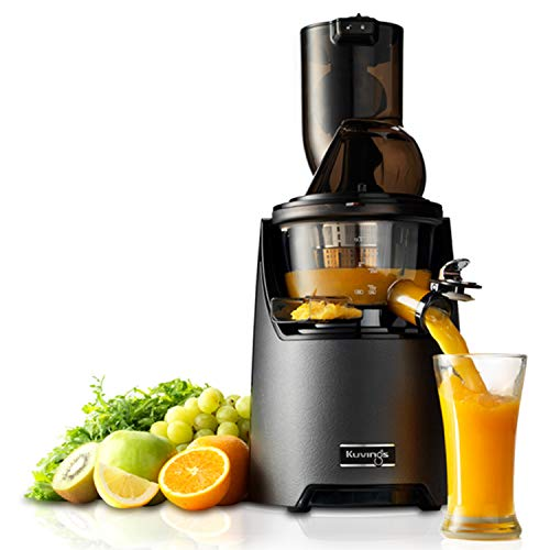 Kuvings EVO-Series Professional 240 Watt Cold Press Whole Slow Juicer, With Upgraded Juicing Technology (EVO820)