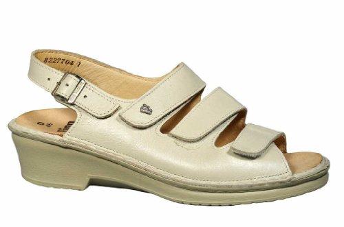 [Finn Comfort] 2601–050008サンダル、サモスレディース – サイズ41 /シェル、ホワイト