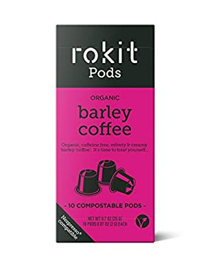 Rokit Pods | Compostable Capsules | Nespresso Coffee Machine Compatible Pods | Instant Drink | No More Scooping, Whisking or Dust | Multipack Bundles Available