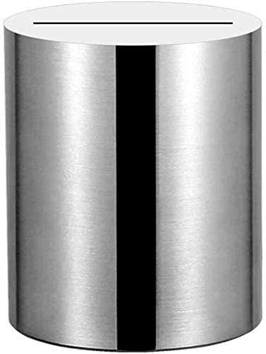 Bxfdc 304 Stainless Steel Piggy Max 89% OFF Bank Bankno Adult Enter Ranking TOP7 Can Only