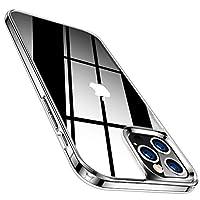 TORRAS iPhone 12 用ケース iPhone 12 Pro 用 ケース 9Hガラス背面+TPUバンパー 高透明 日本旭硝子 三層構造 黄変防止 耐衝撃 ストラップ穴付き 2020年6.1インチ アイフォン12Pro/12用カバー(クリア) Fancy Series