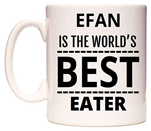 EFAN Is The World's BEST Eater Tazza di WeDoMugs