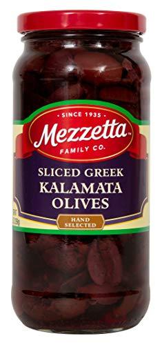 Mezzetta Kalamata Olives, Sliced, 9.5 Ounce