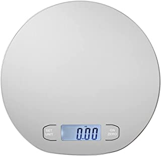 Digital Food Scale - The Figures Show The Maximum Weighing 15 kg 33 lbs - Stainless Steel - The Weight of Food for Distrib...