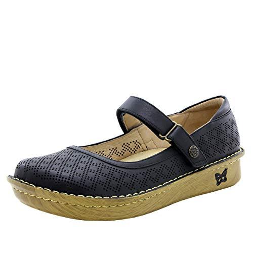Alegria Belle Womens Mary Jane Shoe Fresh Black 8 M US
