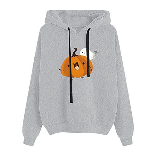 Alueeu Mujer Sudadera Caliente y Esponjoso Tops Suéter Abrigo Jersey Larga Pullover Deportivo Chaqueta Hoodies Suéter con Bolsillo Talla Grande