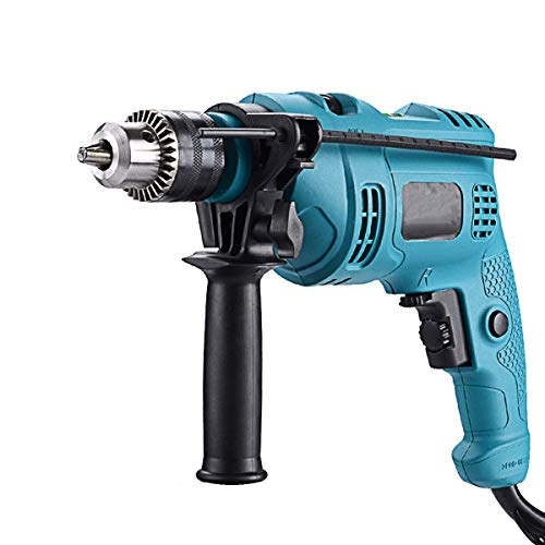 JF-XUAN Cordless Electric Drill Impact Drill Multi-function Household Pistol Drill Dual-use Variable Speed Positivist And Negative Electrical Power Tool Set Electric Hammer Drill Wall Hardware tools