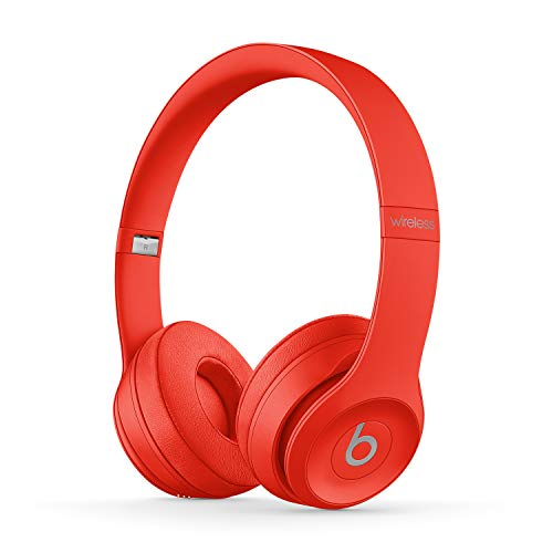 Beats Solo3 Wireless Cuffie – Chip per cuffie Apple W1, Bluetooth di Classe 1, 40 ore di ascolto – Rosso