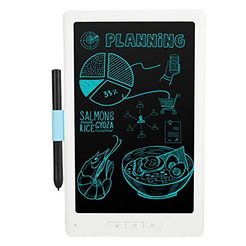 ASHATA Tablet LCD Scrittura,Tablet 10 Pollici Bluetooth LCD Tablet da Scrittura Intelligente, Tablet da Disegno Portatile Wireless App Mobile Sincronizza la Lavagna per Regalo