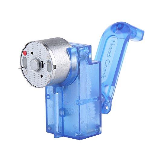 Hand Crank Driven Strom Generator Mechanische Notstromversorgung