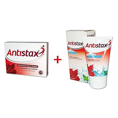 Buyfarma Promo Pack bienestar piernas – Antistax 30 comprimidos + Fresh Gel de 125 ml de regalo