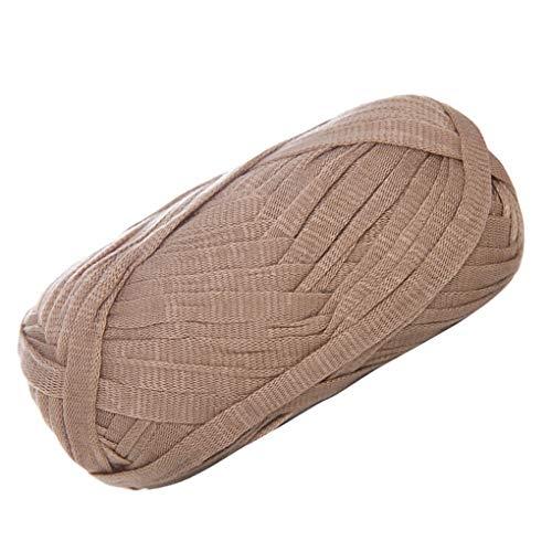 Floridivy 2 stuks Vlakke Hand-Knit draad geweven mandje Deken Garen, DIY Haak Kussen Garen, Kussen Gevlochten DIY Haak Cushion Haken Garen