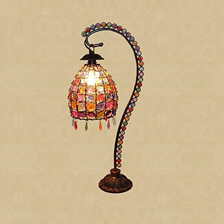 Weich Retro- kreative Hochzeitstischlampe des europischen handgemachten Tischlampenschlafzimmernachttischlampengartens Komfortabel