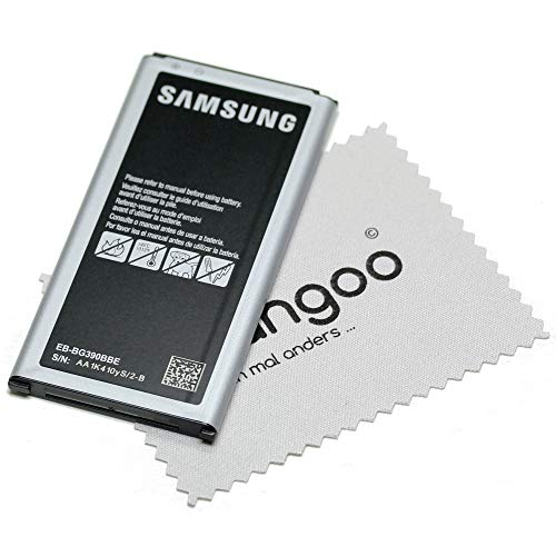 Akku für Samsung Original EB-BG390BBE für Samsung Galaxy Xcover 4 (G390F) mit mungoo Bildschirmputztuch